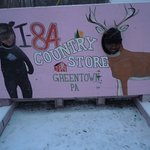 Bear and Deer at the 84 Country Store!