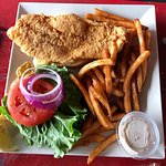 Fried fish sandwich - awesome