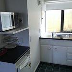 Studio unit kitchenette