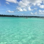 View from the Saona Island excursion boat.