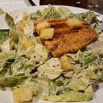 Ceasar salad with salmon