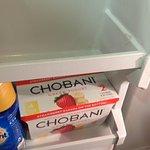 More scotch tape in the fridge!