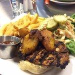 Fitzroy's Jamaican Jerk Chicken Sandwich