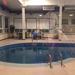 Pool area, Comfort Inn & Suites, 22 Dracup Ave N, Yorkton, Saskatchewan