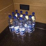 Room service kept delivering free bottled water to my room