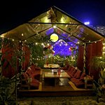 Open Garden lounge concept with good Ambience
