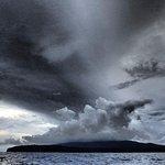 Gatokae under stormy sky
