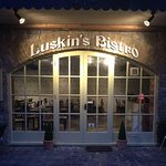 Luskin's Bistro in a cosy courtyard setting near the River Moy