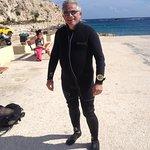 diving at Honda bay