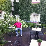 Most rooms face the courtyard which is a good place for an early breakfast