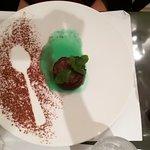 Moelleux au chocolat à la menthe