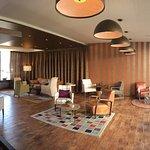 Die schöne Lobby des Hotels