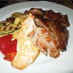 A cena grigliata mista di carne!