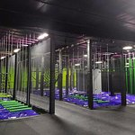 Trampoline Park - Ninja Warrior Courses