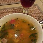 Green Earth (pumkin medley soup)