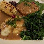 Green Earth (Stuffed turkey dinner)