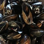 mussels as a main course