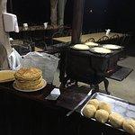 making tortillas and choreadas