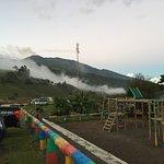 view of the Turrialba volcano