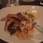 Giant Shrimp and Grits
