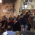 Night at Agia Anna tavern