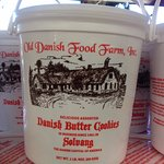 Old Danish Food Farm. Inc. Fudge Kitchen Foto