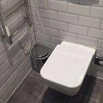 toilettes dans salle de bain