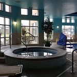 Executive Suite and the pool