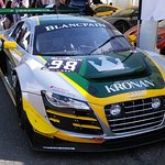 One of the Blancpain Audis