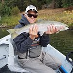 Steelhead fishing is one of our primary attractions during the winter and spring.