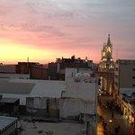 Azotea. El ocaso en la Catedral
