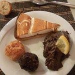 buffet dessert complet,tartes et autres très bon