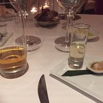 lagavulin 16 yer ol + complimentary taste from kitchen
