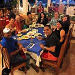 authentic Dominican food at restaurant on resort
