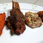 Ajwaini Fish Tikka , Murg Malai Tikka, Murg Tikka Punjab Grill and the Raan-E-Sikandari.