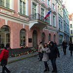 the Russian embassy