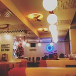 The ambience of the restaurant