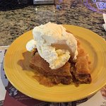 Warm apple pie & ice cream