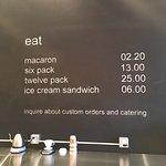 Get the lemon macaroon. Delish. Lovely shop.
