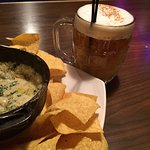 My favorite roasted cauliflower dip along with a special beer cocktail