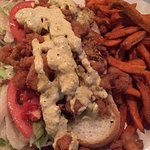 Peacemaker with Sweet Potato Fries