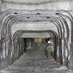 Près de la Fitness Room, une évocation des anciennes mines de potasse d'Alsace