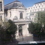 view from room of Saint Nicolas church