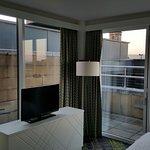 Aussicht aus einem Zimmer mit Balkon