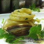 The clam & linguine