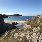Achmelvich beach on an autumns day( you would have thought it was summer )