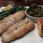 Flounder & Collards