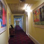 Hallway to the rooms...