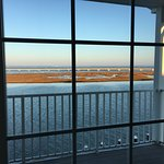 View from room 306, looking west-north-west across Chincoteague Channel.