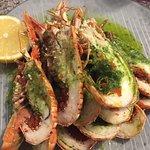 Excellente assiette de langoustines grillées
